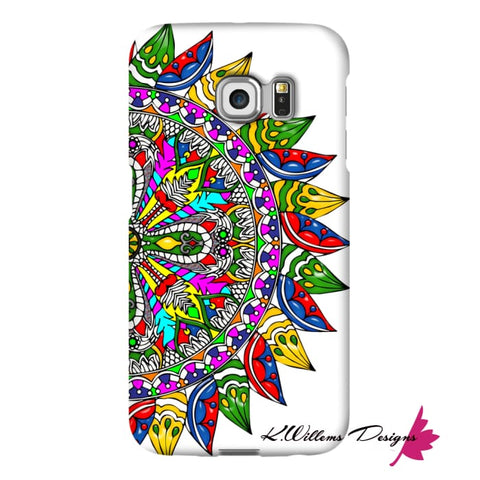 Image of Circle Of Life Mandala Phone Cases - Samsung Galaxy S6 Edge / Premium Glossy Snap Case