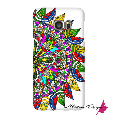Image of Circle Of Life Mandala Phone Cases - Samsung Galaxy S6 Edge Plus / Premium Glossy Snap Case