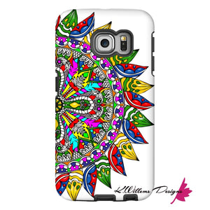 Circle Of Life Mandala Phone Cases - Samsung Galaxy S6 Edge / Premium Glossy Tough Case