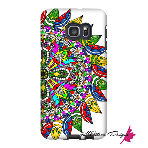 Image of Circle Of Life Mandala Phone Cases - Samsung Galaxy S6 Edge Plus / Premium Glossy Tough Case