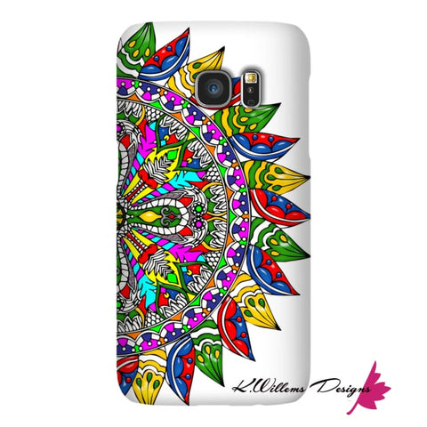 Image of Circle Of Life Mandala Phone Cases - Samsung Galaxy S7 / Premium Glossy Snap Case