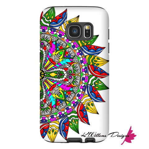 Image of Circle Of Life Mandala Phone Cases - Samsung Galaxy S7 / Premium Glossy Tough Case
