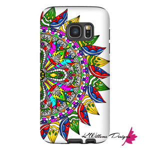 Circle Of Life Mandala Phone Cases - Samsung Galaxy S7 / Premium Glossy Tough Case