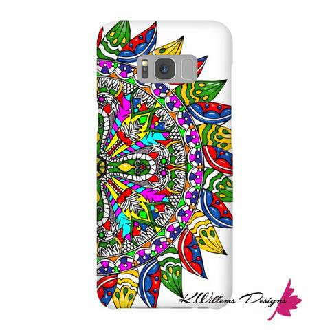 Image of Circle Of Life Mandala Phone Cases - Samsung Galaxy S8 / Premium Glossy Snap Case