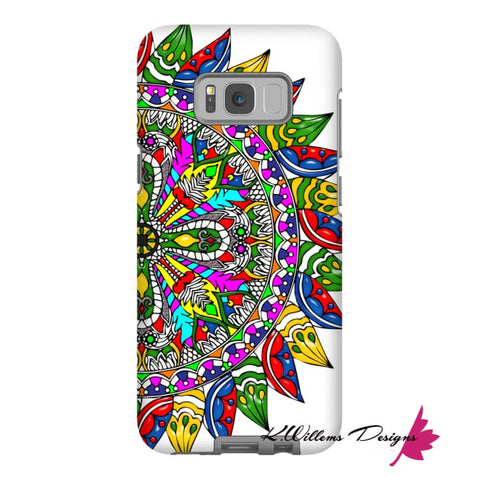 Image of Circle Of Life Mandala Phone Cases - Samsung Galaxy S8 / Premium Glossy Tough Case