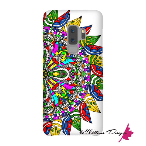 Image of Circle Of Life Mandala Phone Cases - Samsung Galaxy S9 Plus / Premium Glossy Snap Case