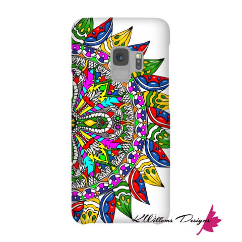 Image of Circle Of Life Mandala Phone Cases - Samsung Galaxy S9 / Premium Glossy Snap Case