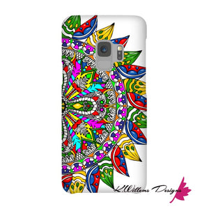 Circle Of Life Mandala Phone Cases - Samsung Galaxy S9 / Premium Glossy Snap Case