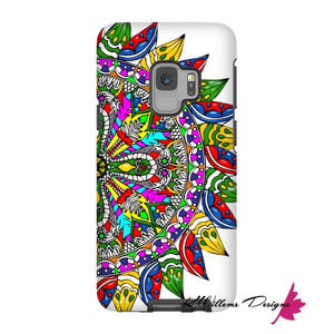 Circle Of Life Mandala Phone Cases - Samsung Galaxy S9 / Premium Glossy Tough Case