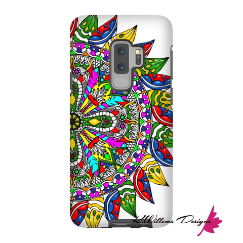 Image of Circle Of Life Mandala Phone Cases - Samsung Galaxy S9 Plus / Premium Glossy Tough Case