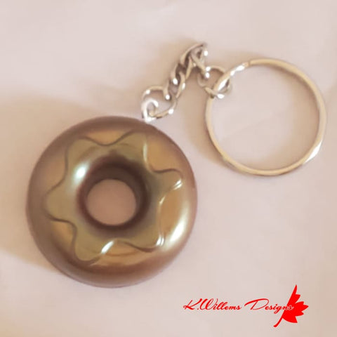 Donut Key Chains - Glazed / Chocolate / Chocolate