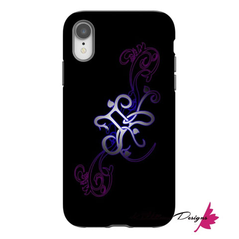 Image of Floral Gemini Phone Case - iPhone XR / Premium Glossy Tough Case