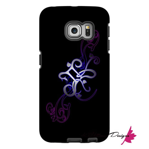 Image of Floral Gemini Phone Case - Samsung Galaxy S6 Edge / Premium Glossy Tough Case