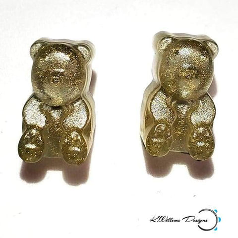Gummy Bear Earrings - Gold