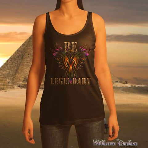 Image of Be Legendary Ladies Racerback Tank Top