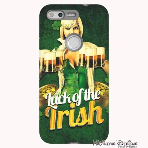 Image of Luck of the Irish Phone Cases - Google Pixel / Premium Glossy Tough Case