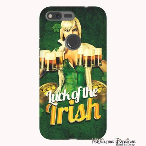 Image of Luck of the Irish Phone Cases - Google Pixel XL / Premium Glossy Tough Case