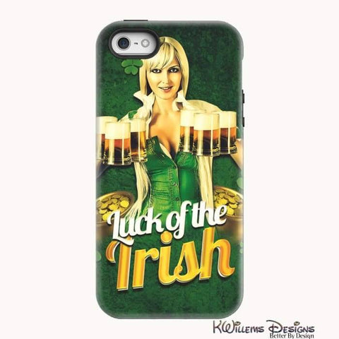 Image of Luck of the Irish Phone Cases - iPhone 5/5s/SE / Premium Glossy Tough Case