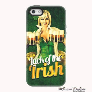 Luck of the Irish Phone Cases - iPhone 5/5s/SE / Premium Glossy Tough Case