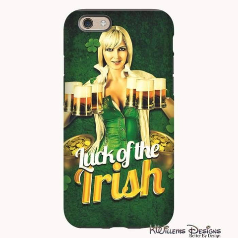 Image of Luck of the Irish Phone Cases - iPhone 6s / Premium Glossy Tough Case