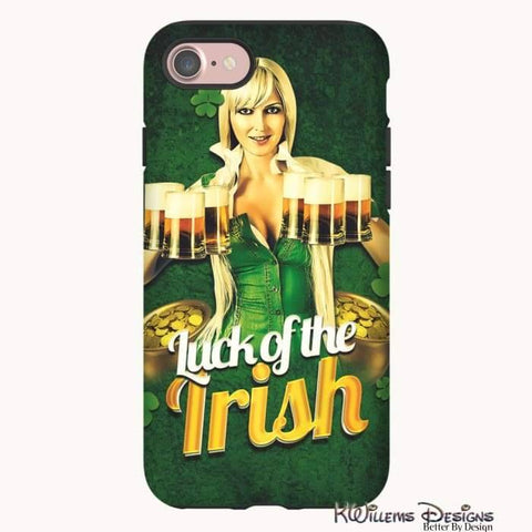 Image of Luck of the Irish Phone Cases - iPhone 7 / Premium Glossy Tough Case