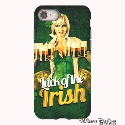 Image of Luck of the Irish Phone Cases - iPhone 8 / Premium Glossy Tough Case