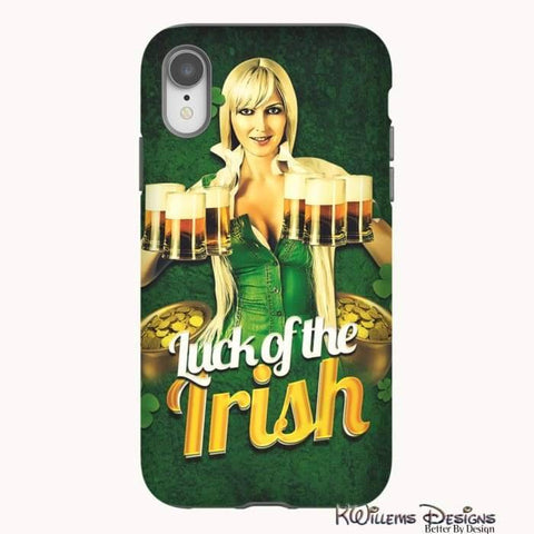 Image of Luck of the Irish Phone Cases - iPhone XR / Premium Glossy Tough Case