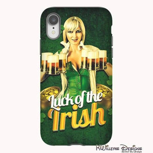 Luck of the Irish Phone Cases - iPhone XR / Premium Glossy Tough Case