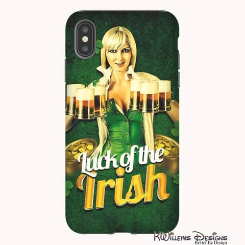 Image of Luck of the Irish Phone Cases - iPhone XS Max / Premium Glossy Tough Case