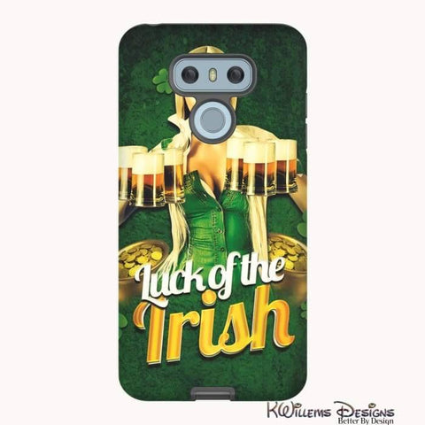 Image of Luck of the Irish Phone Cases - LG G6 / Premium Glossy Tough Case