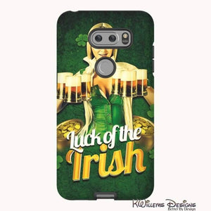 Luck of the Irish Phone Cases - LG V30 / Premium Glossy Tough Case