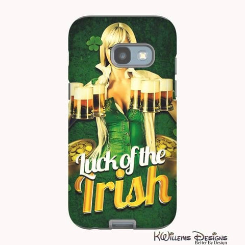 Image of Luck of the Irish Phone Cases - Samsung Galaxy A3 2017 / Premium Glossy Tough Case