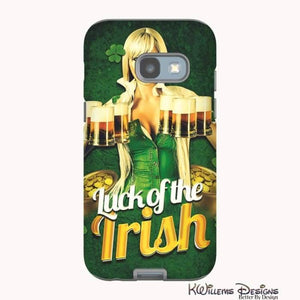 Luck of the Irish Phone Cases - Samsung Galaxy A3 2017 / Premium Glossy Tough Case