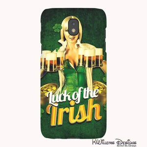 Luck of the Irish Phone Cases - Samsung Galaxy J5 / Premium Glossy Tough Case