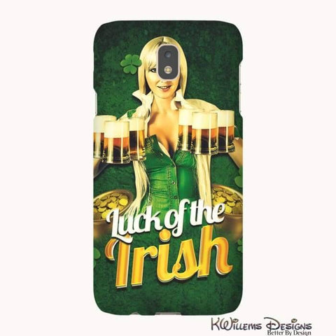 Image of Luck of the Irish Phone Cases - Samsung Galaxy J7 / Premium Glossy Tough Case