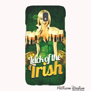 Luck of the Irish Phone Cases - Samsung Galaxy J7 / Premium Glossy Tough Case