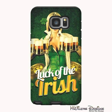 Image of Luck of the Irish Phone Cases - Samsung Galaxy Note 5 / Premium Glossy Tough Case