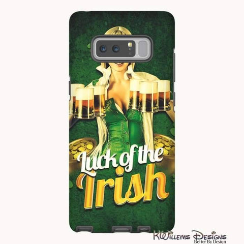 Image of Luck of the Irish Phone Cases - Samsung Galaxy Note 8 / Premium Glossy Tough Case