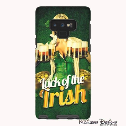 Image of Luck of the Irish Phone Cases - Samsung Galaxy Note 9 / Premium Glossy Tough Case