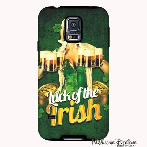 Image of Luck of the Irish Phone Cases - Samsung Galaxy S5 / Premium Glossy Tough Case