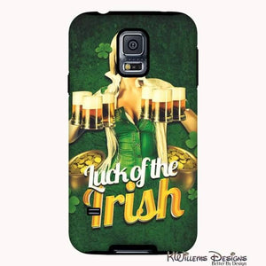 Luck of the Irish Phone Cases - Samsung Galaxy S5 / Premium Glossy Tough Case