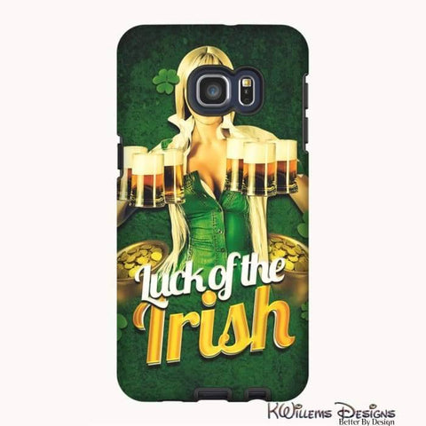 Image of Luck of the Irish Phone Cases - Samsung Galaxy S6 Edge Plus / Premium Glossy Tough Case