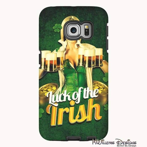 Image of Luck of the Irish Phone Cases - Samsung Galaxy S6 Edge / Premium Glossy Tough Case