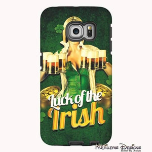 Luck of the Irish Phone Cases - Samsung Galaxy S6 Edge / Premium Glossy Tough Case