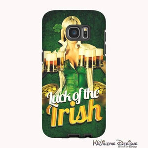 Luck of the Irish Phone Cases - Samsung Galaxy S7 Edge / Premium Glossy Tough Case