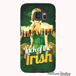 Luck of the Irish Phone Cases - Samsung Galaxy S7 / Premium Glossy Tough Case
