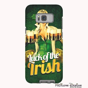 Luck of the Irish Phone Cases - Samsung Galaxy S8 / Premium Glossy Tough Case