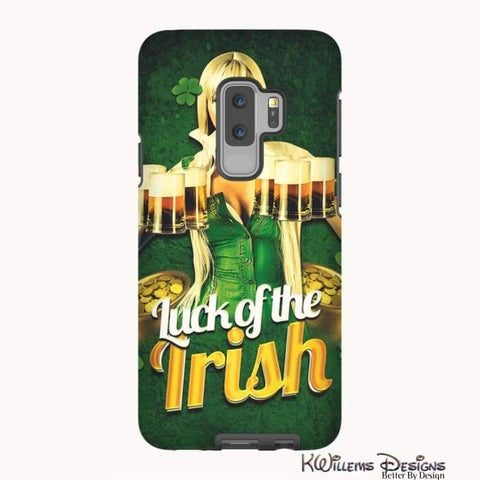 Image of Luck of the Irish Phone Cases - Samsung Galaxy S9 Plus / Premium Glossy Tough Case