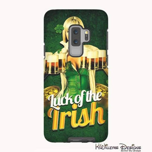 Luck of the Irish Phone Cases - Samsung Galaxy S9 Plus / Premium Glossy Tough Case