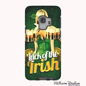 Luck of the Irish Phone Cases - Samsung Galaxy S9 / Premium Glossy Tough Case